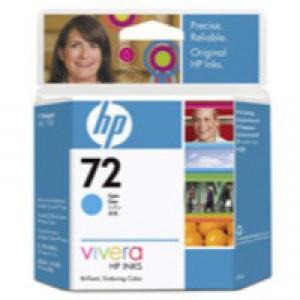 Hewlett Packard No72 Inkjet Cartridge Cyan C9398A