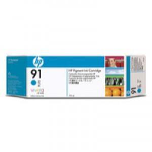 Hewlett Packard No91 Inkjet Cartridge Cyan C9467A