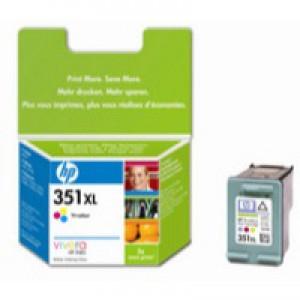 Hewlett Packard No351XL Inkjet Cartridge 3-Colour High Yield CB338EE