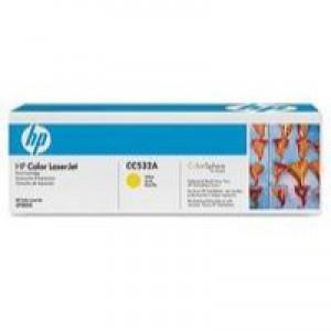 Hewlett Packard No304A Colour LaserJet Toner Cartridge Yellow CC532A