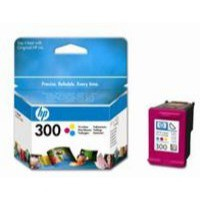 Hewlett Packard No300 Inkjet Cartridge 3-Colour CC643EE#ABB