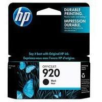 Hewlett Packard No920 Ink Cartridge Black OfficeJet 6500 CD971AE