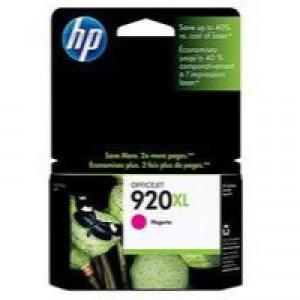 Hewlett Packard No920 XL Ink Cartridge Magenta OfficeJet 6500 CD973AE
