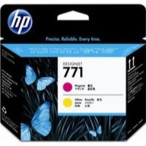 Hewlett Packard No771 Design Jet Print Head Magenta/Yellow CE018A