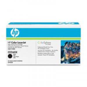 Hewlett Packard No649X LaserJet Toner Cartridge High Yield Black CE260X