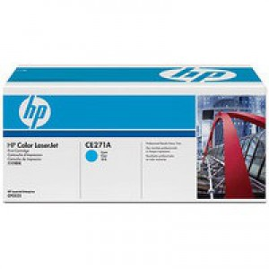 Hewlett Packard No650A Colour LaserJet Toner Cartridge Cyan CE271A