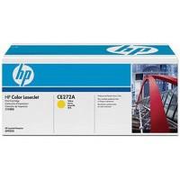 Hewlett Packard No650A Colour LaserJet Toner Cartridge Yellow CE272A