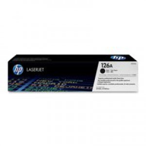 Hewlett Packard No126A Colour LaserJet Toner Cartridge 126A Black Twin Pack CE310AD