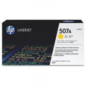 Hewlett Packard LaserJet Toner Cartridge 507A Yellow CE402A