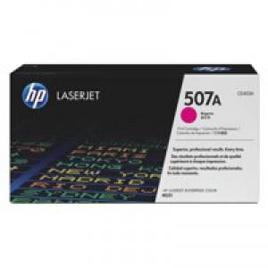 Hewlett Packard [HP] No. 507A Laser Toner Cartridge Page Life 6000pp Magenta Ref CE403A