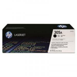 Hewlett Packard No305A LaserJet Toner Cartridge Black CE410A