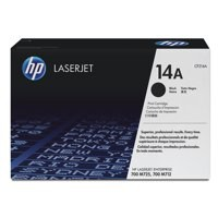 Hewlett Packard No14A Toner Cartridge Black CF214A