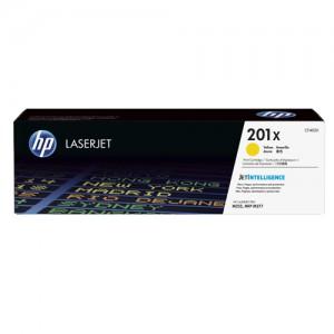 HP 201X Yellow H/Y LaserJet Toner CF402X