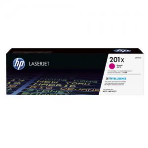 HP 201X Original JetIntelligence LaserJet Toner Cartridge High Yield Magenta CF403X