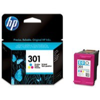 Hewlett Packard No301 Ink Cartridge 3-Colour CH562EE