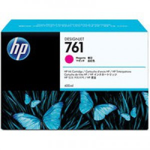Hewlett Packard No761 Design Jet Inkjet Cartridge 400ml Magenta CM993A