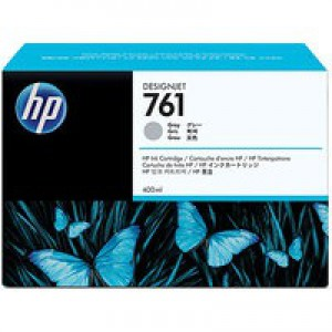 Hewlett Packard No761 Design Jet Inkjet Cartridge 400ml Grey CM995A