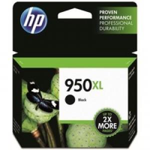 Hewlett Packard No950XL OfficeJet Inkjet Cartridge Black CN045AE