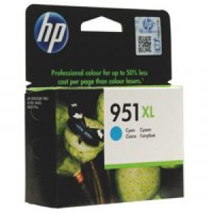 Hewlett Packard [HP] No. 951XL Inkjet Cartridge High Capacity Page Life 1300pp Cyan Ref CN046AE-BGX