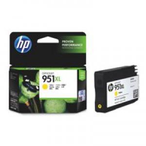 Hewlett Packard No951XL OfficeJet Inkjet Cartridge Yellow CN048AE