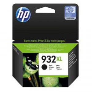 Hewlett Packard No932XL OfficeJet Inkjet Cartridge Black CN053AE