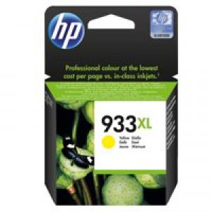 Hewlett Packard No933XL OfficeJet Inkjet Cartridge Yellow CN056AE