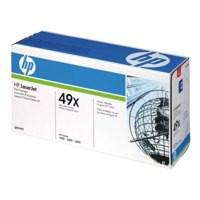 Hewlett Packard No49X LaserJet Toner Cartridge High Capacity Black Q5949X