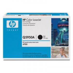 Hewlett Packard No643A LaserJet Toner Cartridge Black Q5950A