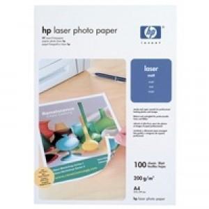 Hewlett Packard Laser Photo Paper Matt A4 White Pack of 100 Q6550A