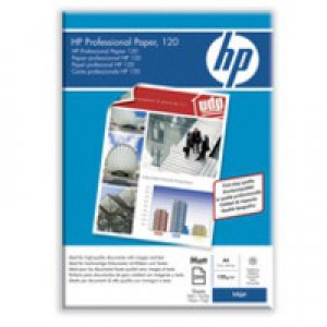 Hewlett Packard Professional Inkjet Paper 120gsm Matt A4 Pack of 200 Q6593A