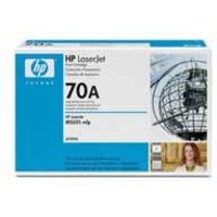 Hewlett Packard No70A LaserJet Toner Cartridge Black Q7570A