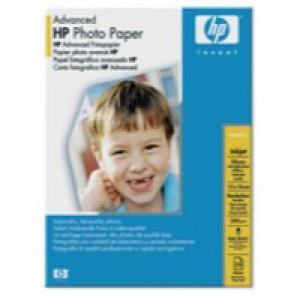 Hewlett Packard Glossy Photo Paper Borderless 13x18cm Pack of 25 Q8696A