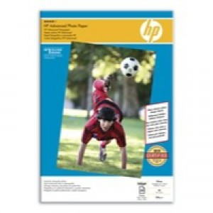 Hewlett Packard Advanced Glossy Photo Paper 250gsm A3 Pack of 20 Q8697A