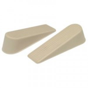 Door Wedge Brown Pack of 2 9132