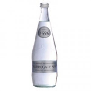 Harrogate Spring Bottled Water Sparkling 330ml Pack of 24