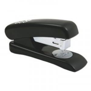 Rapesco Eco Half Strip ABS Stapler Recycled-material Top Loading Black Code 1084
