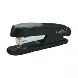 Rapesco Office Stapler Half Strip Black R72660B3