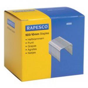 Rapesco Heavy Duty Staples 923/10mm Box 4000 Code S92310Z3
