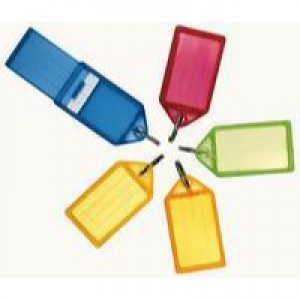 Helix Sliding Key Fob Medium Assorted Pack of 50 F34020