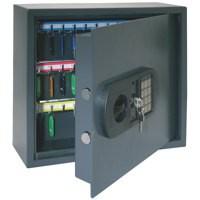 Helix High Security Key Safe 60 Key Grey CP9060