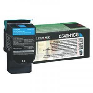 Lexmark Laser Toner Cartridge Page Life 2000pp Cyan Ref C540H1CG