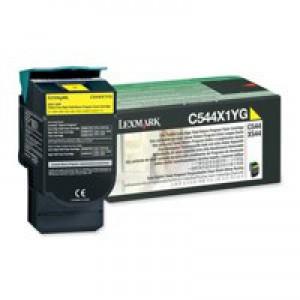 Lexmark Extra High Yield Return Programme Toner Yellow C544X1YG