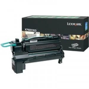 Lexmark X792 Extra High Yield Return Programme Cartridge Black X792X1KG