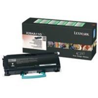 Lexmark Return Programme X264/X36X 3.5K Toner Black X264A11G