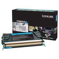 Lexmark C748 Return Programme Toner Cartridge High Yield Cyan C748H1CG