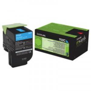 Lexmark Cyan Rp Tnr Cart 70C20C0 Pk1