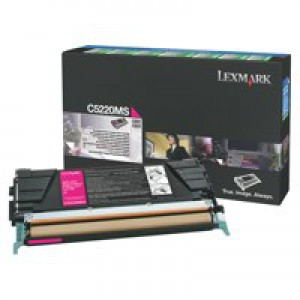 Lexmark C522N/C524 Return Programme Toner Cartridge Magenta C5220MS