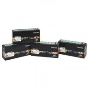 Lexmark C780/C782/X782E Return Programme High Yield Toner Cartridge Yellow C780H1YG