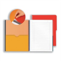 Image for Oxford International Active Notebook A4+ 160 Pages Ruled Narrow Feint N001402