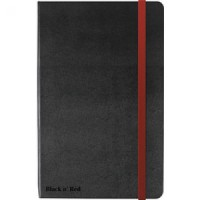 Image for Black n Red A4 Hard Cover Notebook